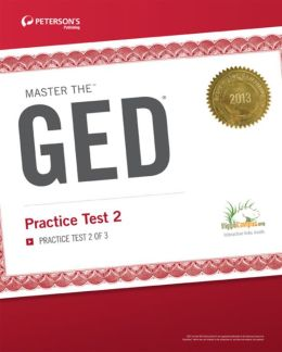 Master the GED: Practice Test 2: Practice Test 2 of 3