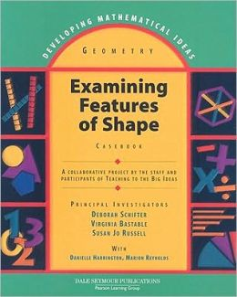 Developing Mathematical Ideas Exam Features Of Shapes Casebook