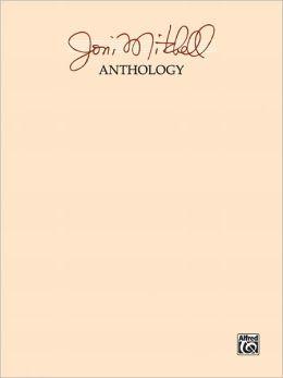 Joni Mitchell -- Anthology: Piano/Vocal/Chords