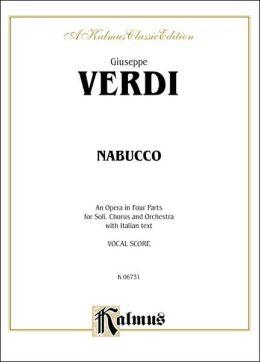Nabucco: Vocal Score (Italian Language Edition), Vocal Score