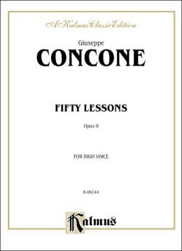 Fifty Lessons, Op. 9: High Voice