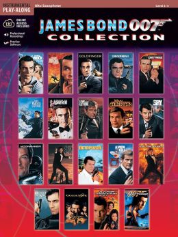 James Bond 007 Collection: Alto Sax, Book & CD
