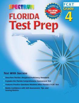 Spectrum Florida Test Prep Grade 4 (FCAT)