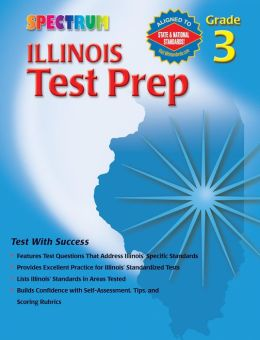 Spectrum Illinois Test Prep, Grade 3
