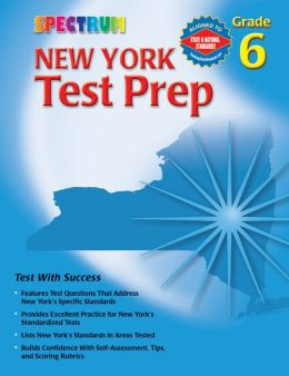 Spectrum New York Test Prep, Grade 6