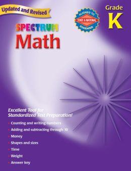 Spectrum Math, Kindergarten