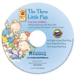 The Three Little Pigs English-Spanish Audio CD