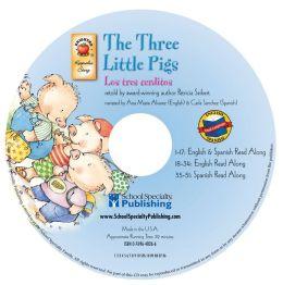 The Three Little Pigs English-Spanish Audio CD