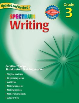Spectrum Writing, Grade 3