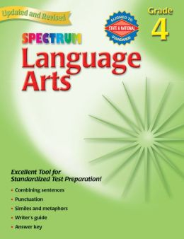 Spectrum Language Arts, Grade 4