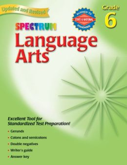 Spectrum Language Arts, Grade 6