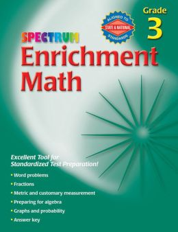 Spectrum Enrichment Math, Grade 3