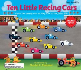Ten Little Racing Cars: A speedy counting book