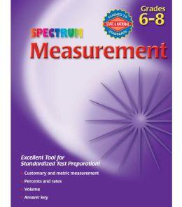 Spectrum Measurement, Grades 6-8