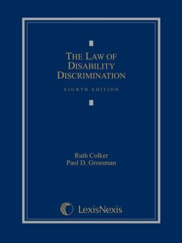 The Law of Disability Discrimination