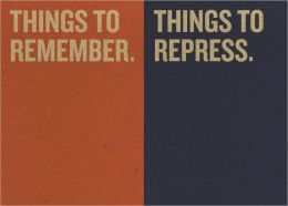 Jotty Journals: Reminders: Things to Remember and Things to Repress