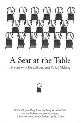 A Seat at the Table: Persons with Disabilities and Policy Making