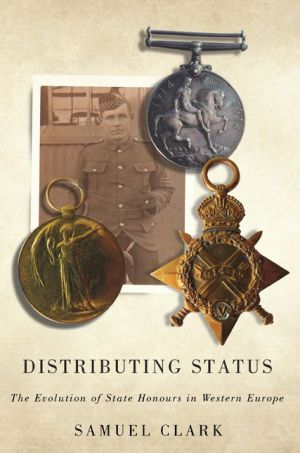 Distributing Status: The Evolution of State Honours in Western Europe