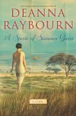 Book Cover Image. Title: A Spear of Summer Grass, Author: Deanna Raybourn