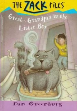 Great-Grandpa's in the Litter Box (Zack Files Series #1)
