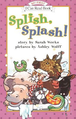 Splish, Splash! (My First I Can Read Series)