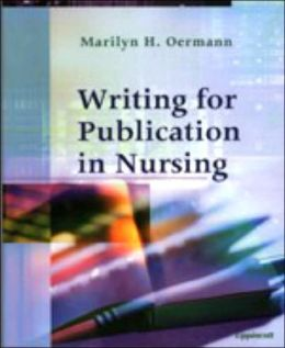 Writing for Publication in Nursing