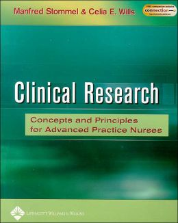 Clinical Research: Concepts and Principles for Advanced Practice Nurses