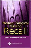 Medical-Surgical Nursing Recall