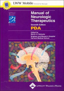 Manual of Neurologic Therapeutics for PDA: Powered by Skyscape, Inc.