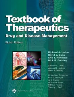 Textbook of Therapeutics: Drug and Disease Management