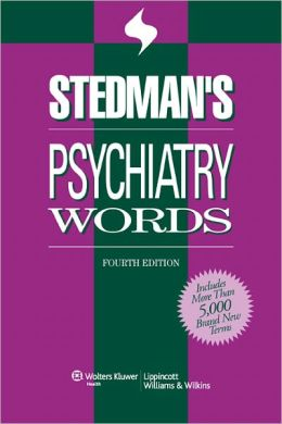 Stedman's Psychiatry Words