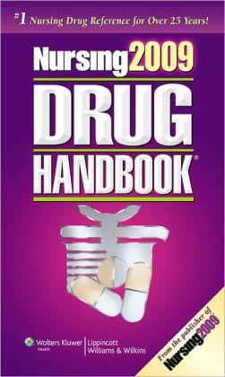 Nursing2009 Drug Handbook with Web Toolkit