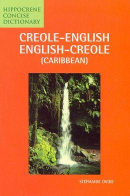 CREOLE-E/E-C(Caribbean)CONC DICT
