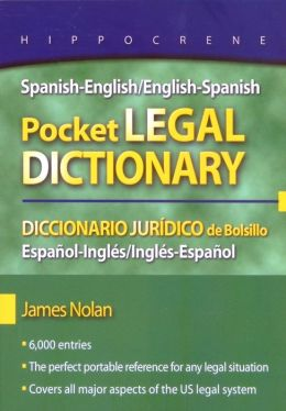 SPANISH/ENG ENG/SPAN PKT LEGAL..DICTIONARY