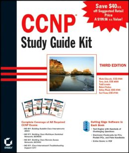CCNP Study Guide Kit, (643-801, 643-811, 643-821, 643-831)
