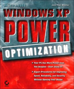 Microsoftwindowsxp Power Optimization