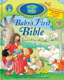 Baby's First Bible Record-A-Book
