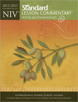 NIV Standard Lesson Commentary with eCommentary 2012-2013