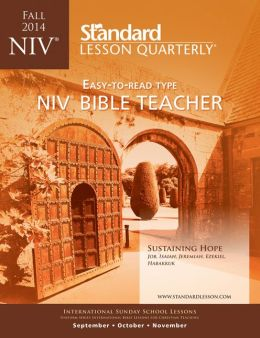 NIV Bible Teacher-Fall 2014