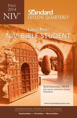 NIV Bible Student Large Print-Fall 2014