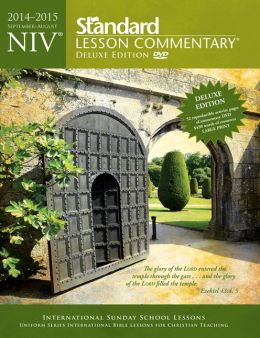 NIV Standard Lesson Commentary; Deluxe Edition 2014-15