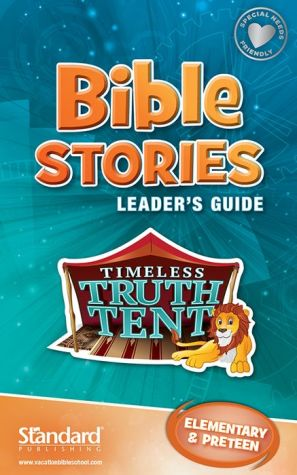 Bible Stories Leader's Guide: Elementary & PreTeen