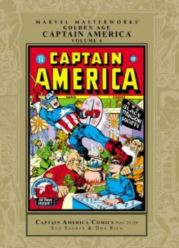Marvel Masterworks: Golden Age Captain America - Volume 6