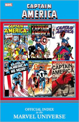 Captain America: Official Index to the Marvel Universe