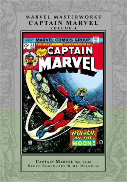 Captain Marvel Marvel Masterworks, Volume 4