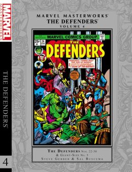 Marvel Masterworks: The Defenders Volume 4