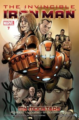 Invincible Iron Man Volume7: My Monsters