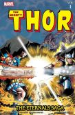 Book Cover Image. Title: Thor:  The Eternals Saga Volume 1, Author: Roy Thomas