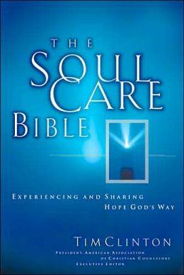 The Soul Care Bible: New King James Version (NKJV), black bonded leather, gold-gilded edging