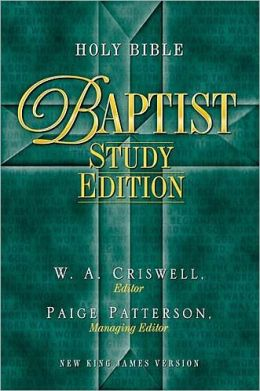 Holy Bible - Baptist Study Edition